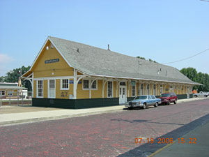 7th Avenue Depot Hendersonville Historic Preservation Commission